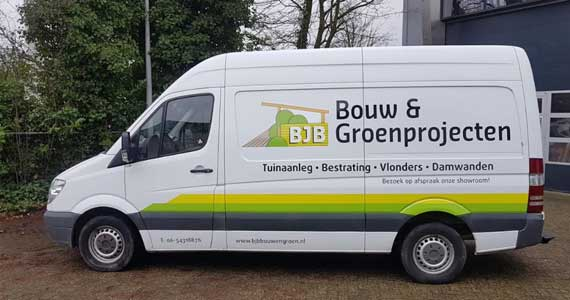 BJB Bouw- en Groen Projecten Douglas hout